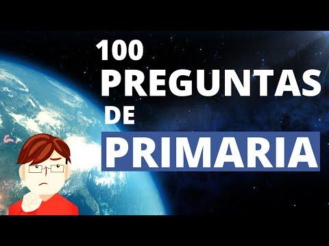 100 Preguntas de Primaria para Ponerte a Prueba🤨