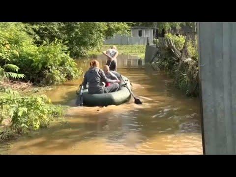 Ρωσία: Νεκροί και αγνοούμενοι από τις φονικές πλημμύρες…