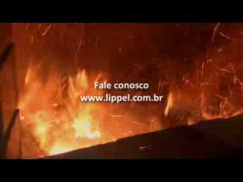 Queimador de Biomassa - Geração de Ar Quente