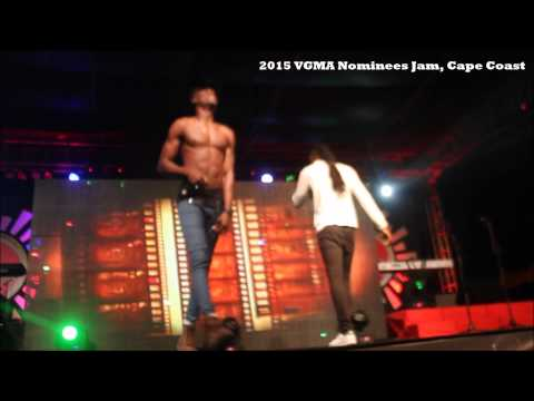 Joey B And Pappy Kojo Performing At 2015 #VGMA Nominees Jam  | @GhanaGist Video