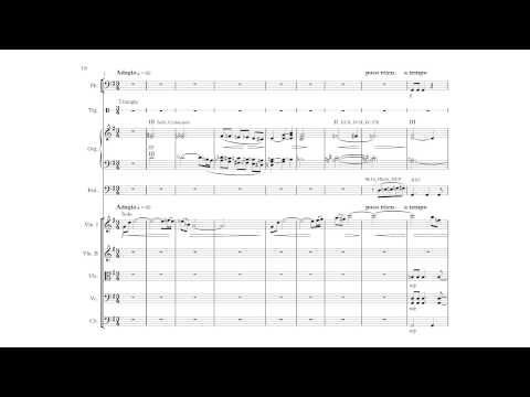 Kay Johannsen: Concerto for organ, strings and percussion (Version with score)