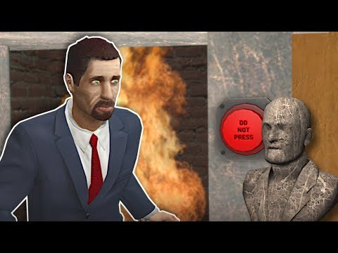 Garrys Mod - DANGEROUS ESCAPE ROOM! - Garry's Mod Gameplay - Escape Room Challenge