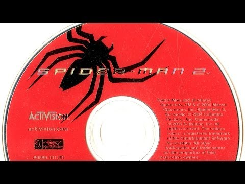 spiderman 2 gamecube carte