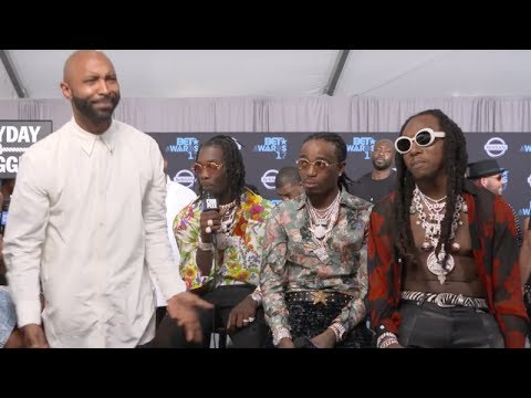 Migos Was about to fight Joe Budden at The BET Awards [Full Video] (видео)