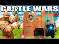 TWO STORY BOX FORT CASTLE WARS!! 📦🏰  Sword Fighting, Archery & More!!!