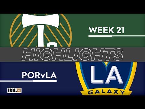 Портленд 2 - LA Galaxy 2 1:2. Видеообзор матча 29.07.2019. Видео голов и опасных моментов игры