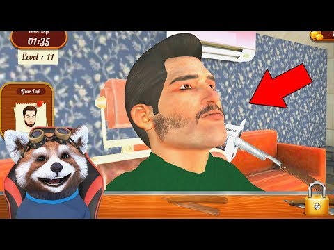 MI-AM BATUT JOC DE BARBA LUI ! Barber Shop Simulator