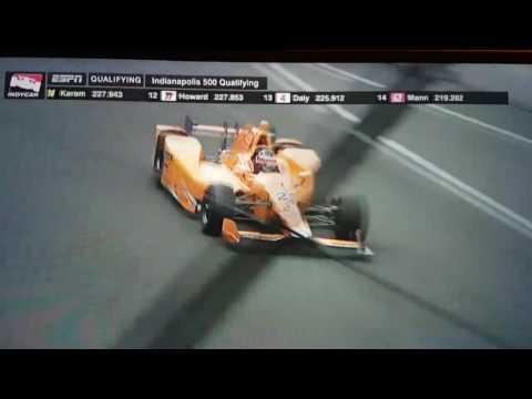 Las 4 históricas vueltas de Alonso en las 500