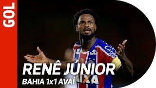 Gol de Renê Junior - Bahia 1x0 Avaí