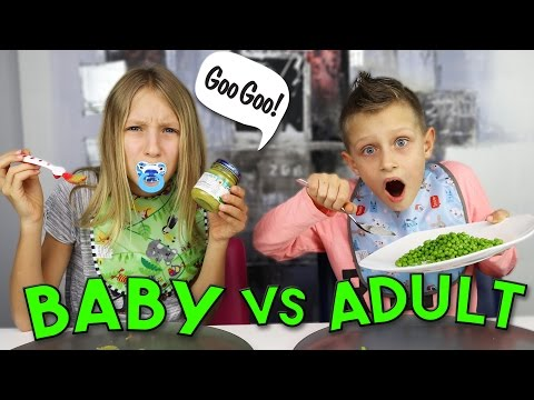 BABY FOOD vs ADULT FOOD
