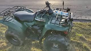 9. Kawasaki kvf 360 4x4