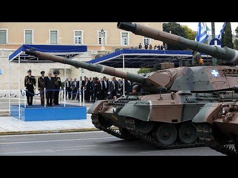 Μεγάλη στρατιωτική παρέλαση για την 25η Μαρτίου – Μήνυμα Παυλόπουλου στην Άγκυρα…