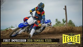10. First Impression: 2019 Yamaha YZ125   Baseline Test