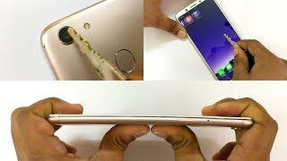 Video Oppo F5 - Scratch test, Hammer test & Bend test! MP3, 3GP, MP4, WEBM, AVI, FLV November 2017