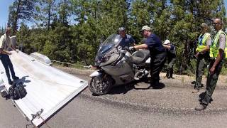 6. BMW K1600 GTL Crash
