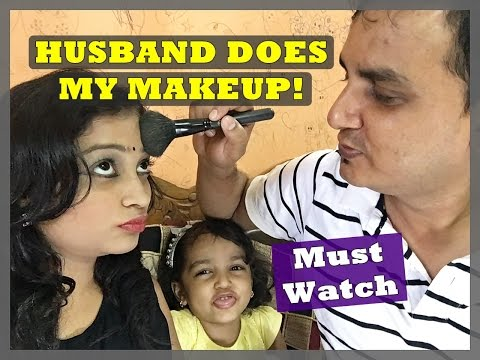 Video Husband Does My Makeup | Must Watch with Your Husband or Boyfriend | Indian Mom on Duty download in MP3, 3GP, MP4, WEBM, AVI, FLV January 2017