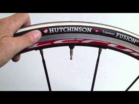 Hutchinson Road Tubeless Mounting