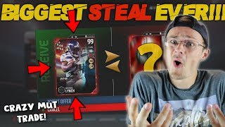 WORLDS GREATEST MUT TRADE STEAL!! YOU WON'T BELIEVE WHAT THIS GUY OFFERED ME!! Madden 17 Packed Out