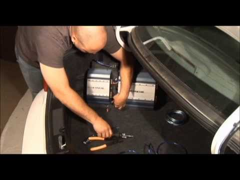 How To Install A Car Stereo Amplifier