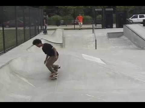 Ethan Simpson at the skatepark
