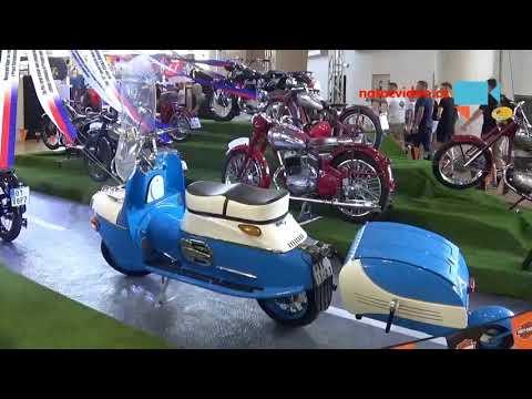 Výstava motocyklů