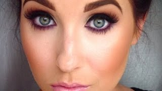 Smokey eye with a pop of color | Jaclyn Hill