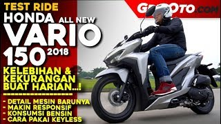 Video Honda Vario 150 2018 | Test Ride Review | GridOto MP3, 3GP, MP4, WEBM, AVI, FLV Juni 2019