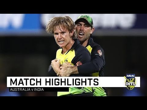 Australia draw first blood in T20 series | First Gillette T20