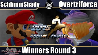 Òssom Fights – SchlimmShady (Mario) vs Overtriforce (Sheik)