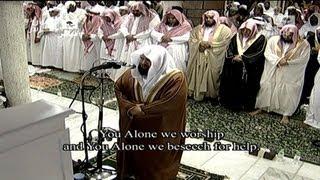 Translation| 27th Night Tahajjud Makkah 2013 Sheikh Sudais