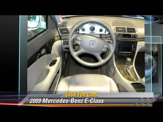 2009 mercedes benz e class cash for cars san jose for Mercedes benz of san jose