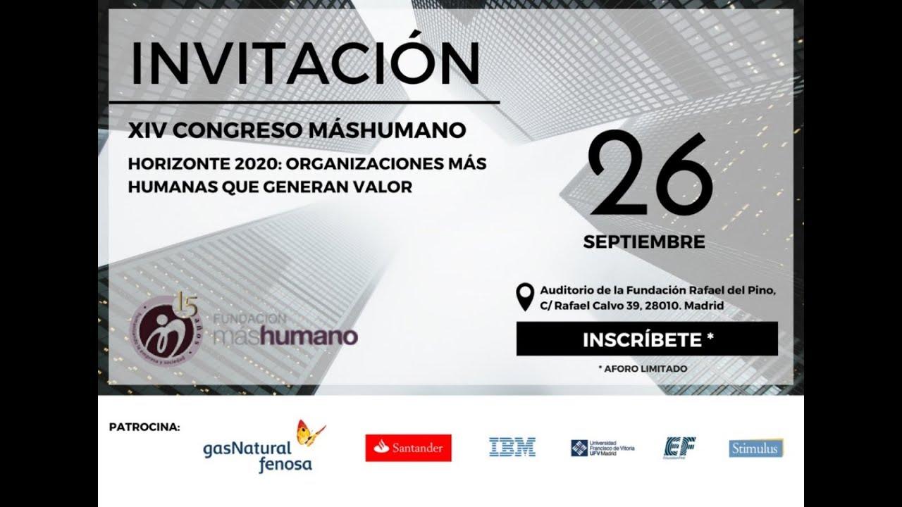 02/08/2017.XIV Congreso máshumano 2017
