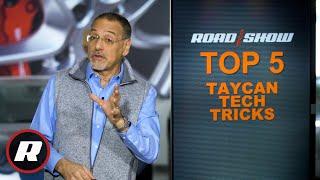 Top 5 Porsche Taycan tech tricks by Roadshow