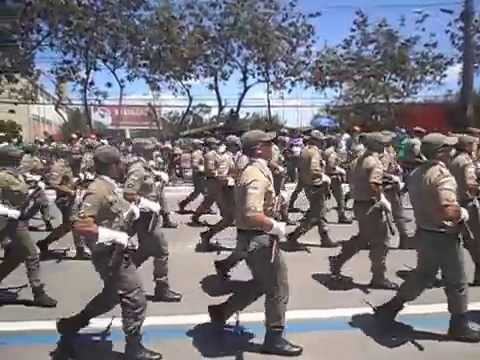 DESFILE CÍVICO 7 DE SETEMBRO DE 2012/  POLÍCIA MILITAR 2012 ISMAEL