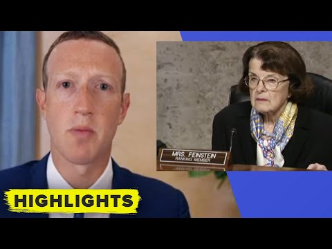 Stop the Steal! Feinstein talks with Zuck on what Facebook could do better