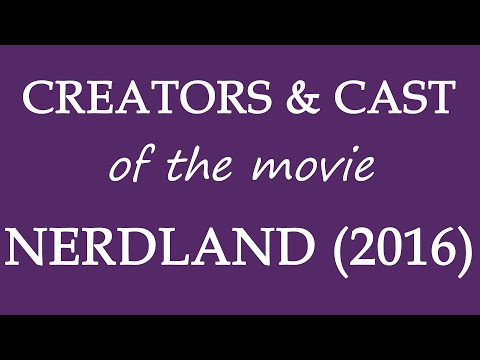 Nerdland (2016) Movie Cast and Creator Info