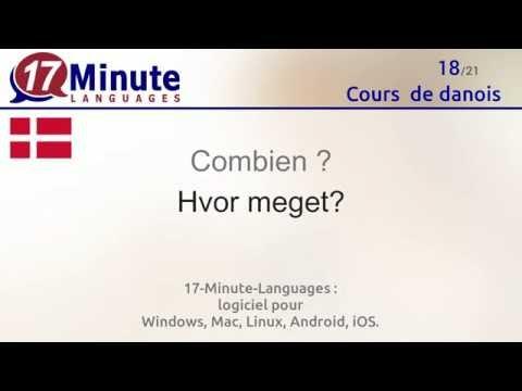 Cours  de danois gratuit (vidéo)