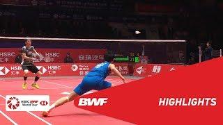 Video HSBC BWF World Tour Finals 2018 | MS - SF - HIGHLIGHTS | BWF 2018 MP3, 3GP, MP4, WEBM, AVI, FLV Desember 2018