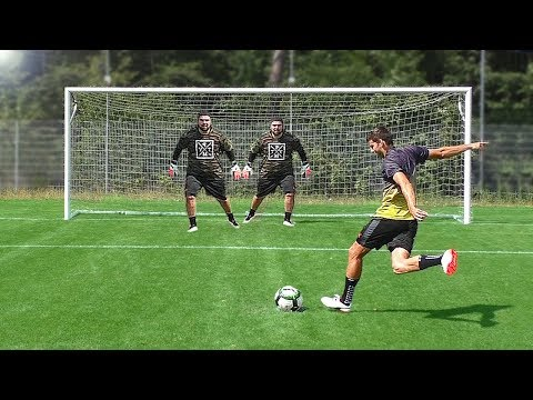 Penalty Shootout vs 2 Goalkeepers - Thời lượng: 6 phút, 38 giây.