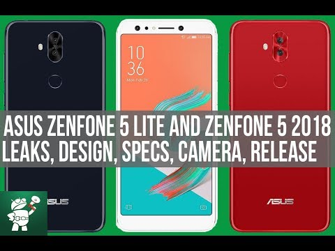 Asus Zenfone 5 Lite - 5 (2018) Leaks Specs - Design - Camera-Release Date- #Backto5 - Android Speaks