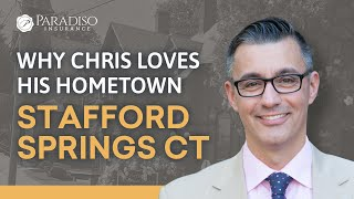 In this video, Chris talks about why he loves his hometown of Stafford Springs, Connecticut, and what community means to him.