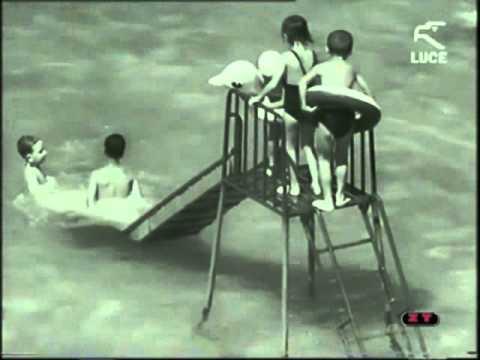 video incredibile: messina, i lidi di mortelle negli anni 50!
