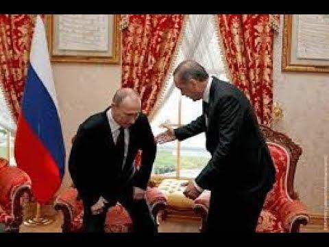 Путин уронил стул Эрдогана (видео)