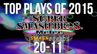 SSBM Top 30 Plays of 2015 – Part 2/3 (20-11)