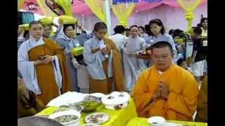 Chương Trình An Vị Phật Và Chẩn Tế - Cúng Dường Trai Tăng P2