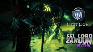 Mythic Fel Lord Zakuun Kill