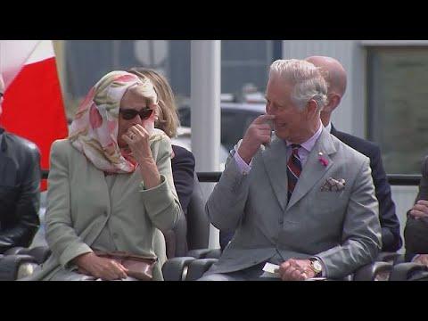 Ο Κάρολος και η Καμίλα σε «κρίση» γέλιου