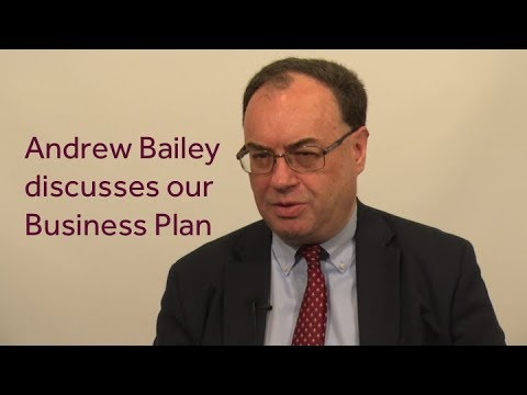 Andrew Bailey on FCA's Business Plan 2018/19