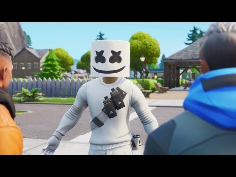 Marshmello - Blocks (Fortnite Music Video)