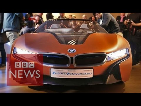 CES 2016: BMW shows off gesture-controlled concept car - BBC News